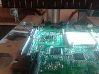 Reballing chipset
