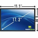 Display 17.3 led hd