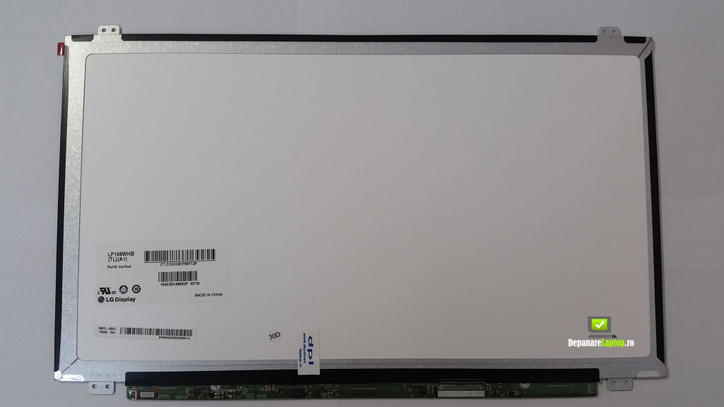 Display laptop 15.6 led slim 40 pini